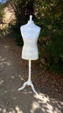 Rénovation mannequin de couture ancien