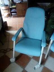 couverture simili médical de ce fauteuil pour un hopital
